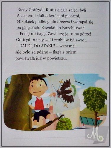 szkolne przygody Mikołajka