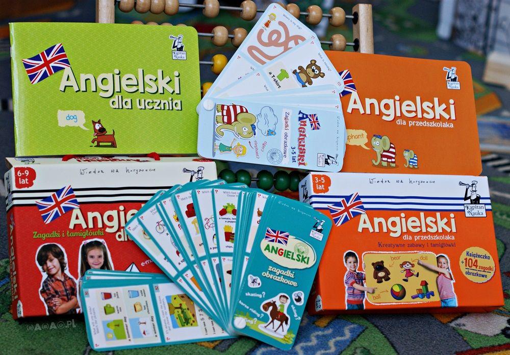 angielski dla malucha, przedszkolaka, ucznia